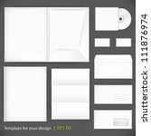 vector templates set of... | Shutterstock .eps vector #111876974
