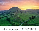chrome hill seen from parkhouse ...   Shutterstock . vector #1118790854