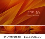fractal abstract background.... | Shutterstock .eps vector #1118800130