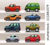 car icon set | Shutterstock .eps vector #111881579
