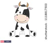 hand drawn vector illustration... | Shutterstock .eps vector #1118817503