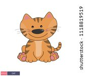 hand drawn vector illustration... | Shutterstock .eps vector #1118819519