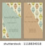 vector colorful  pattern... | Shutterstock .eps vector #1118834018