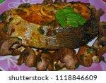 Salmon Steak With Mushrooms ...