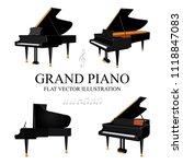 Grand Piano. Grand Piano Flat...