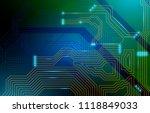 colorful microscheme design.... | Shutterstock .eps vector #1118849033