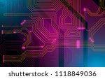 colorful microscheme design.... | Shutterstock .eps vector #1118849036