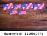 american independence day... | Shutterstock . vector #1118867978