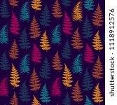 fern frond herbs  tropical... | Shutterstock .eps vector #1118912576