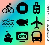 vector icon set  about... | Shutterstock .eps vector #1118915390