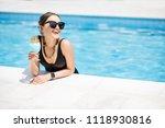 portrait of a beautiful woman...   Shutterstock . vector #1118930816