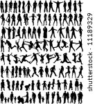 subject people silhouettes  ... | Shutterstock .eps vector #11189329