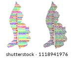 sketch liechtenstein letter... | Shutterstock .eps vector #1118941976