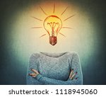 surreal image as a serious... | Shutterstock . vector #1118945060