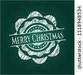 merry christmas written on a... | Shutterstock .eps vector #1118948534
