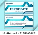 horizontal business... | Shutterstock .eps vector #1118961449