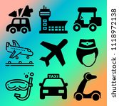 vector icon set  about... | Shutterstock .eps vector #1118972138