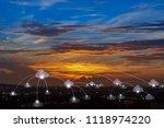 telecommunications cloud...   Shutterstock . vector #1118974220