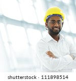 african american architect... | Shutterstock . vector #111898514
