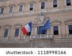rome  italy   june 11  2018 ...   Shutterstock . vector #1118998166