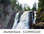 high falls of tettegouche state ... | Shutterstock . vector #1119001610