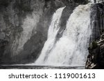 high falls of tettegouche state ... | Shutterstock . vector #1119001613