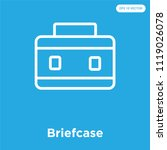 briefcase vector icon isolated...   Shutterstock .eps vector #1119026078