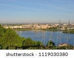 a bright sunny  earlier morning ... | Shutterstock . vector #1119030380