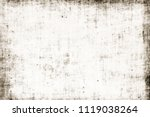 dirty edges obsolete ragged...   Shutterstock . vector #1119038264
