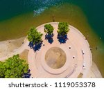 sacramento state aquatic center | Shutterstock . vector #1119053378
