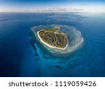 lady elliot island and its...   Shutterstock . vector #1119059426