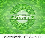 personalized service realistic... | Shutterstock .eps vector #1119067718
