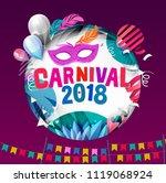 popular event in brazil....   Shutterstock .eps vector #1119068924
