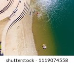 aerial drone view of sacramento ... | Shutterstock . vector #1119074558