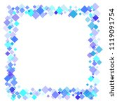 rhombus vector minimal... | Shutterstock .eps vector #1119091754
