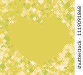 rhombus shape minimal geometric ... | Shutterstock .eps vector #1119091868