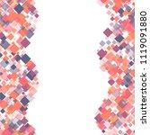 rhombus pattern minimal... | Shutterstock .eps vector #1119091880