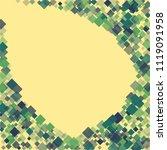 rhombus ornate minimal... | Shutterstock .eps vector #1119091958