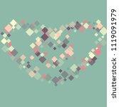 rhombus minimal geometric cover ...   Shutterstock .eps vector #1119091979