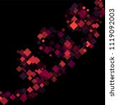 rhombus print minimal geometric ...   Shutterstock .eps vector #1119092003