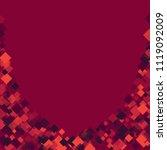 rhombus confetti minimal...   Shutterstock .eps vector #1119092009
