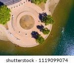 sacramento state aquatic center | Shutterstock . vector #1119099074