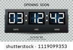 countdown timer remaining or... | Shutterstock .eps vector #1119099353