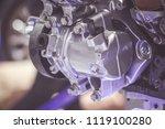 car engine close up | Shutterstock . vector #1119100280