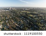 aerial view of beverly hills... | Shutterstock . vector #1119100550
