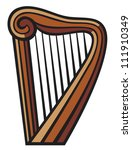 harp | Shutterstock .eps vector #111910349