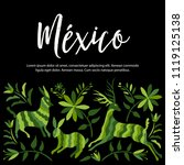 colorful mexican traditional...   Shutterstock .eps vector #1119125138