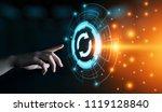 update software computer... | Shutterstock . vector #1119128840