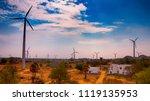 muppandal wind farm  india's... | Shutterstock . vector #1119135953