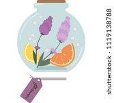 illustration of a herbarium ...   Shutterstock .eps vector #1119138788